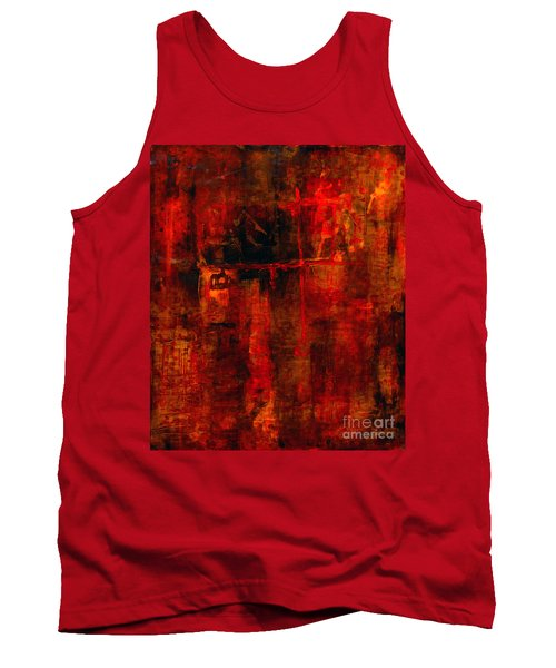 Red Odyssey Tank Top