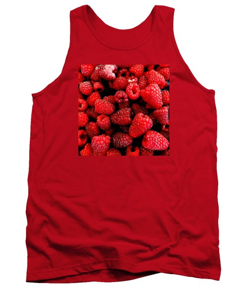 Red Raspberries Tank Top
