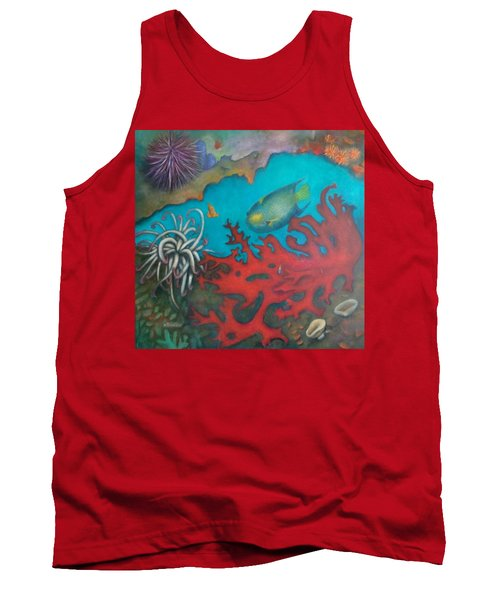Red Reef Tank Top