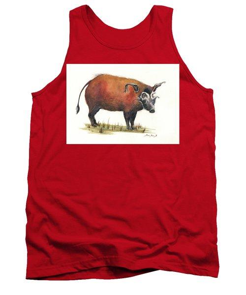 Red River Hog Tank Top