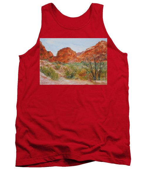 Red Rock Canyon Tank Top