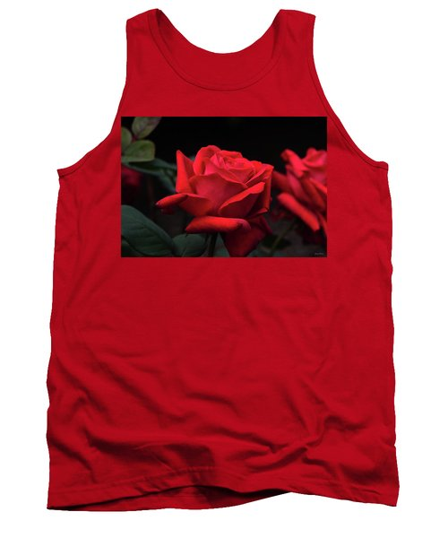 Tank Top featuring the photograph Red Rose 014 by George Bostian