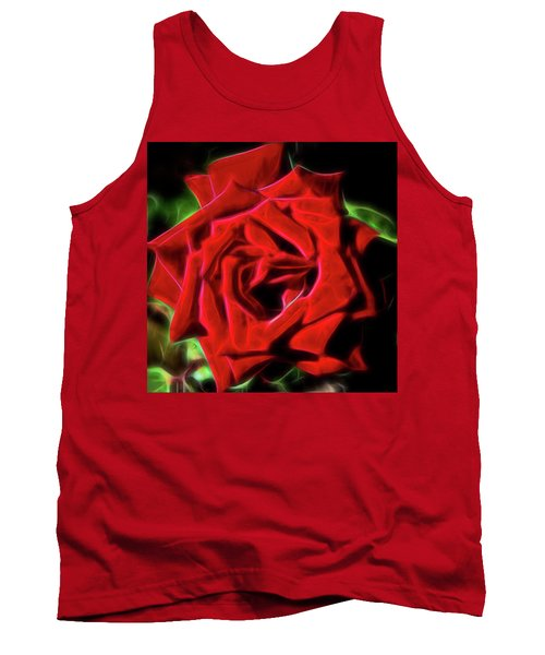 Red Rose 1a Tank Top