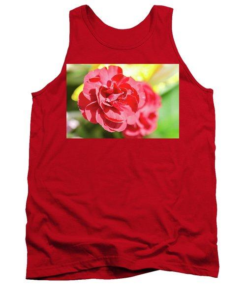 Red Rose II Tank Top