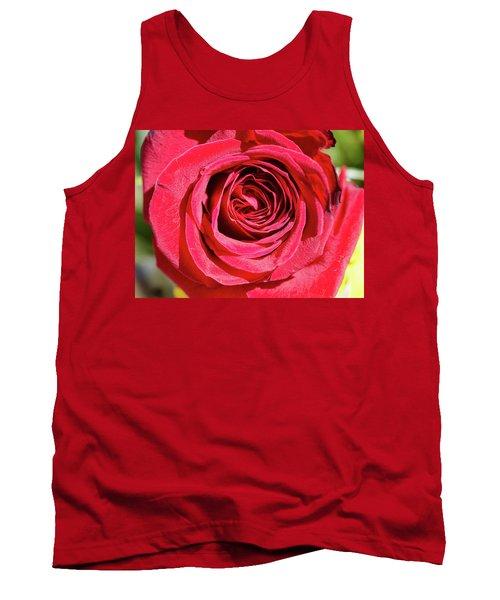 Red Rose Tank Top