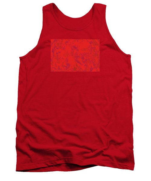 Tank Top featuring the photograph Red Rules by Nareeta Martin