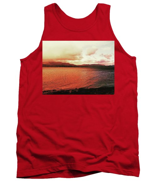 Red Sky After Storms  Tank Top