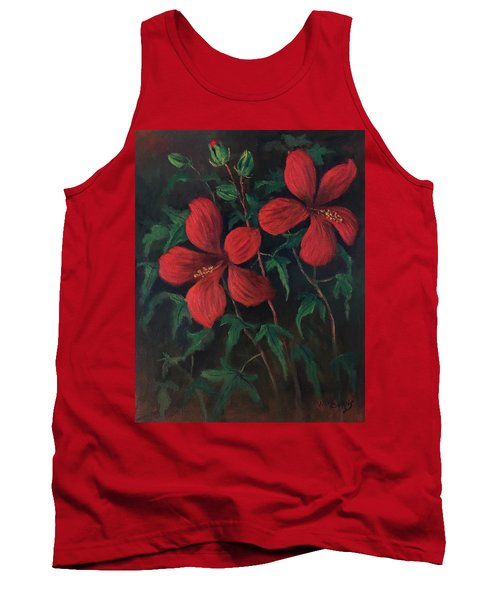 Red Soldiers Tank Top