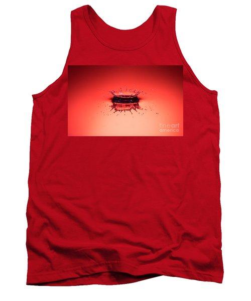 Red Splashdown Tank Top