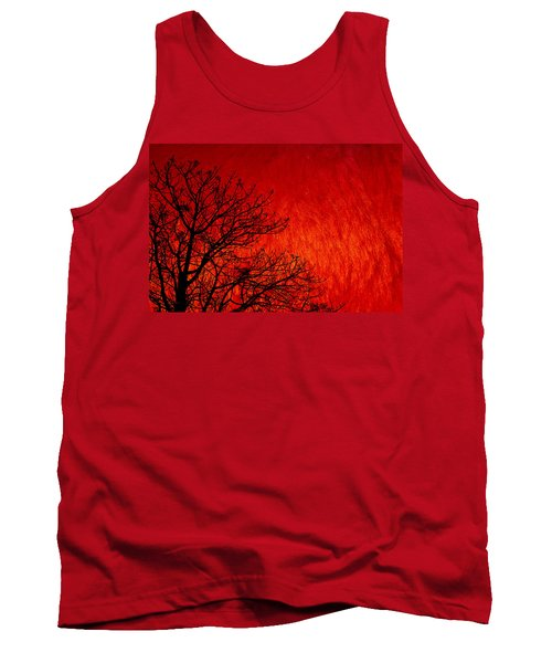 Red Storm Tank Top