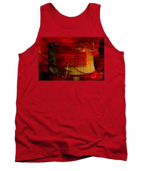 Red Strings Tank Top