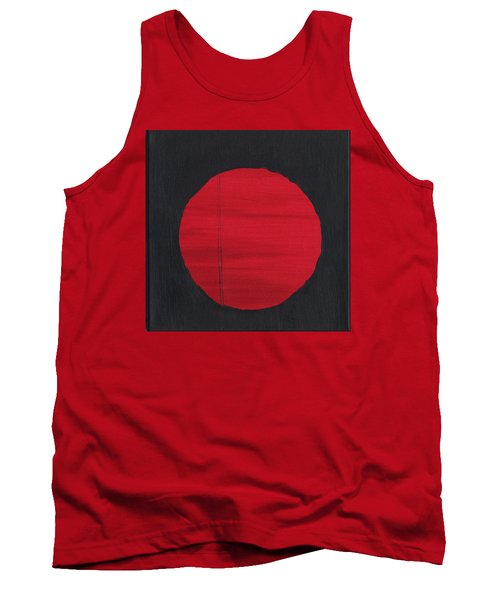 Red Sun Tank Top by Phil Strang