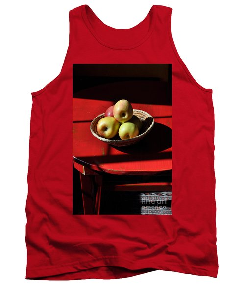 Red Table Apple Still Life Tank Top