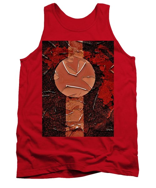 Red Totem With Headdress Tank Top