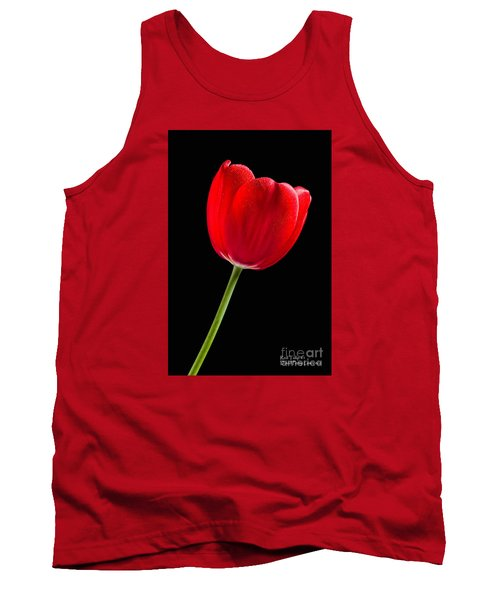 Tank Top featuring the photograph Red Tulip No. 1  - By Flower Photographer David Perry Lawrence by David Perry Lawrence