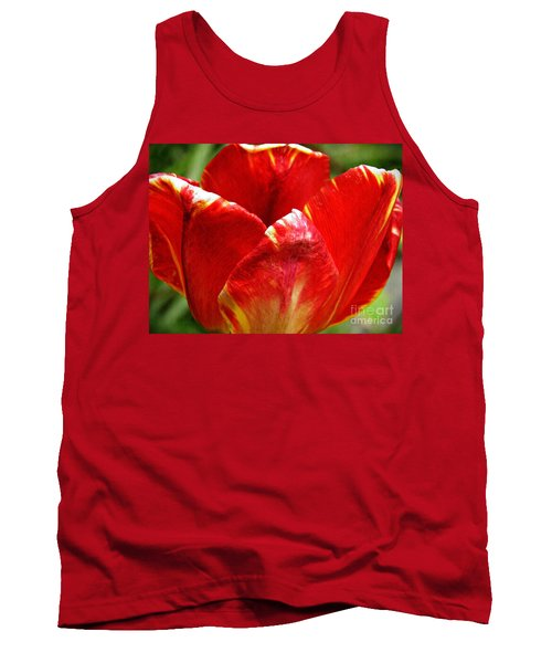 Red Tulip Tank Top by Sarah Loft