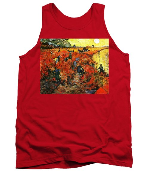 Red Vineyard Tank Top