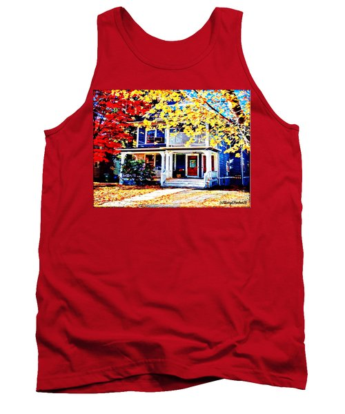 Reds And Yellows Tank Top by MaryLee Parker