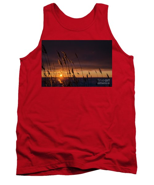 Reeds By Sunset Tank Top