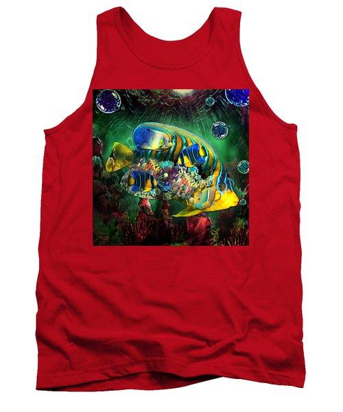 Reef Fish Fantasy Art Tank Top