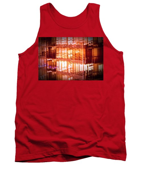 Reflectionary Phase Tank Top by Amyn Nasser