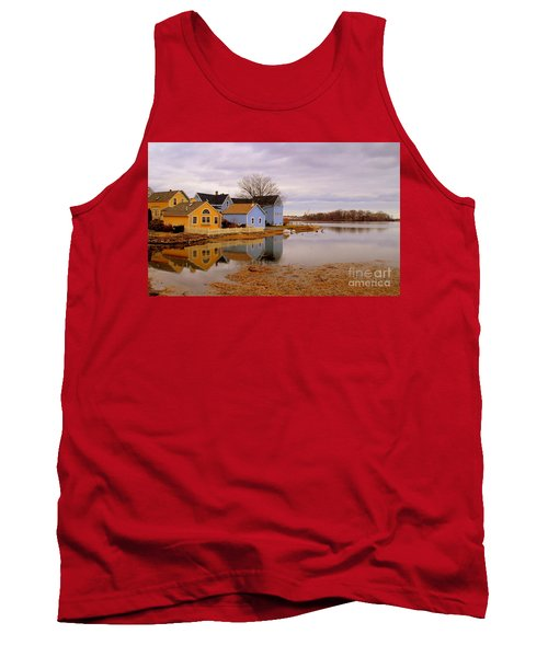 Reflections In The Harbor Tank Top
