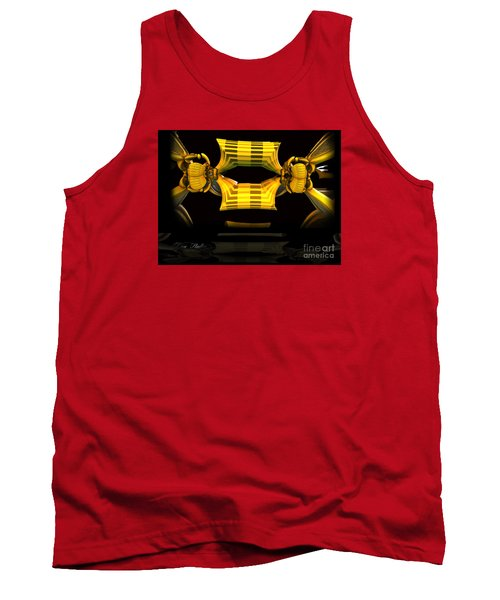 Tank Top featuring the digital art Reflections by Melissa Messick