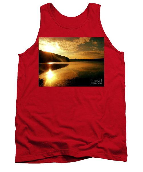 Reflections Of The Day Tank Top by Scott D Van Osdol