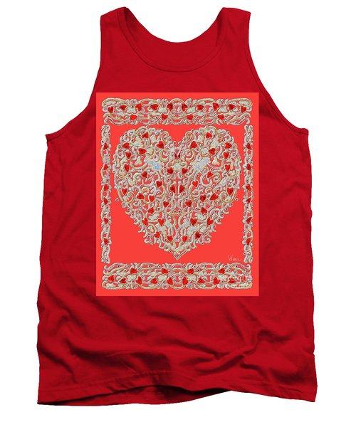 Renaissance Style Heart Tank Top