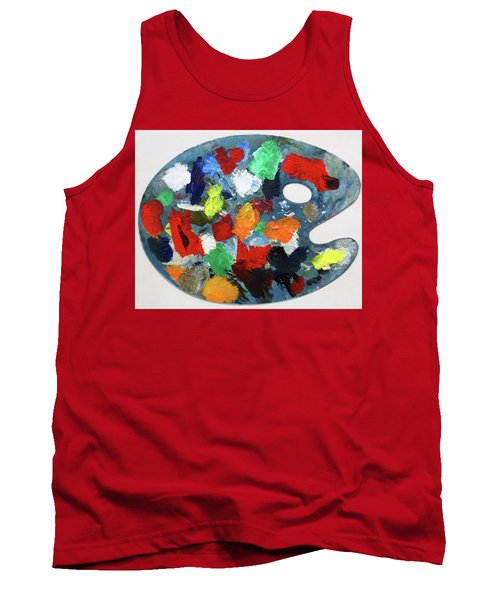 The Artists Palette Tank Top