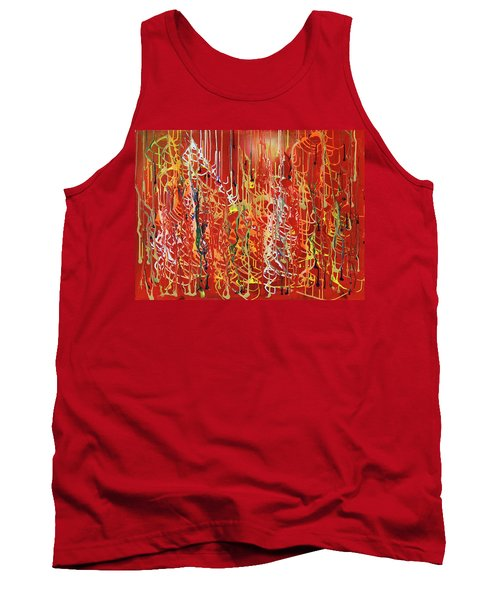 Rib Cage Tank Top by Ralph White