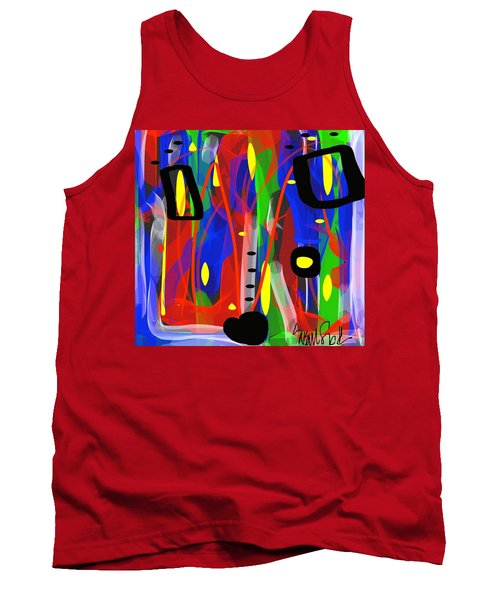 Ribbon Of Thought Tank Top