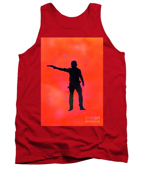 Rick Grimes Tank Top by Justin Moore