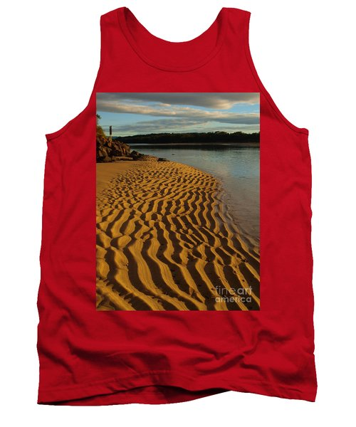 Tank Top featuring the photograph Ripples To The Edge by Trena Mara