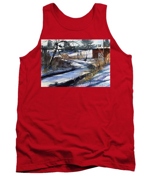 Rippleton Road River Tank Top by Judith Levins
