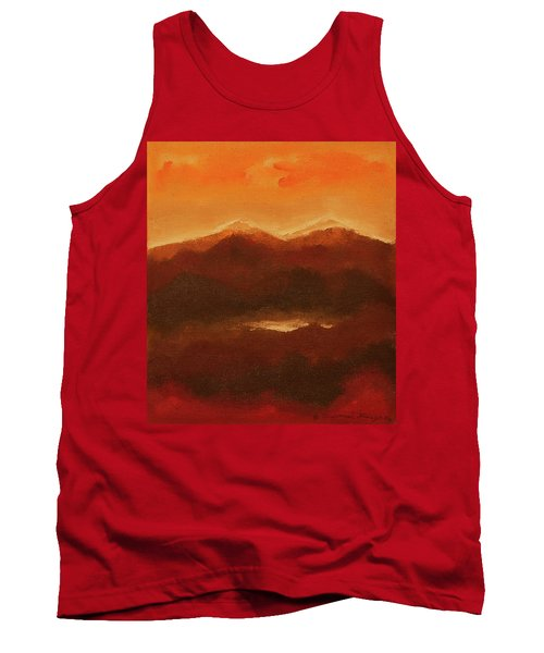 River Mountain View Tank Top