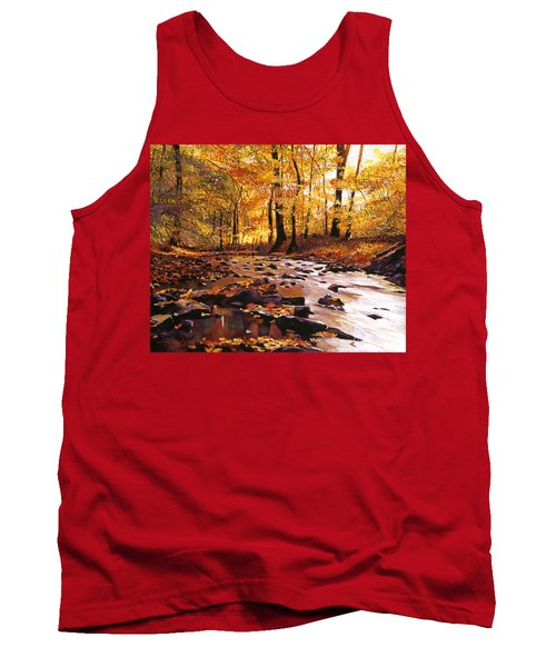River Of Gold Tank Top