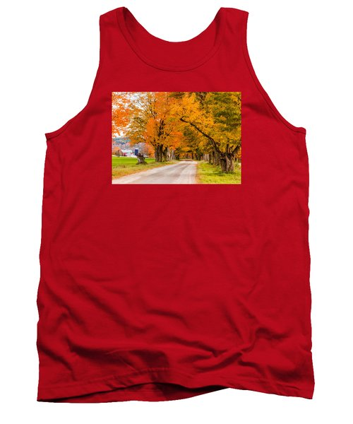 Road To The Farm Tank Top by Tim Kirchoff