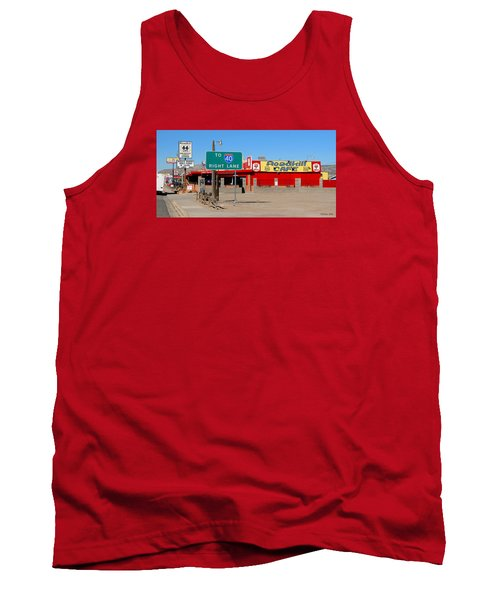 Roadkill Cafe, Route 66, Seligman Arizona Tank Top