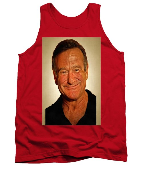 Tank Top featuring the painting Robin by Harry Warrick