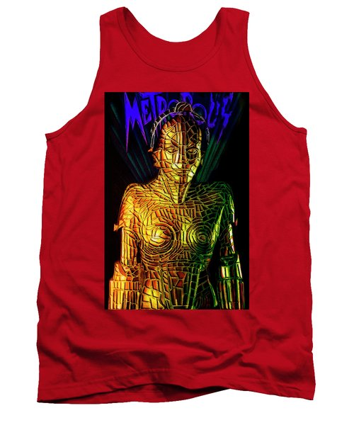 Robot Of Metropolis Tank Top