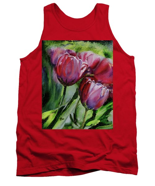 Rochelle's Springtime Tulips Tank Top