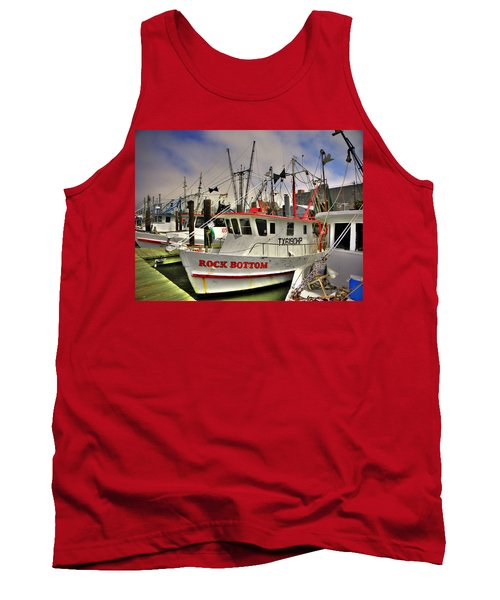 Tank Top featuring the photograph Rock Bottom by Savannah Gibbs