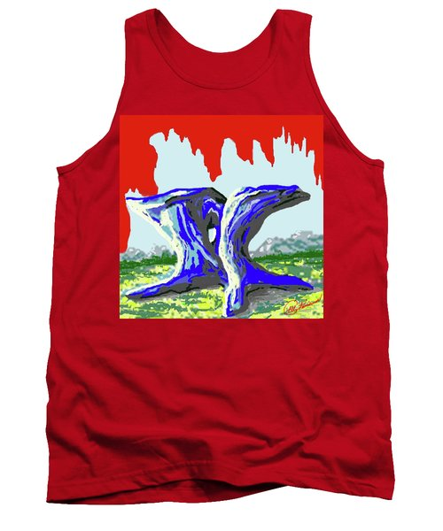 Rock Formations Tank Top