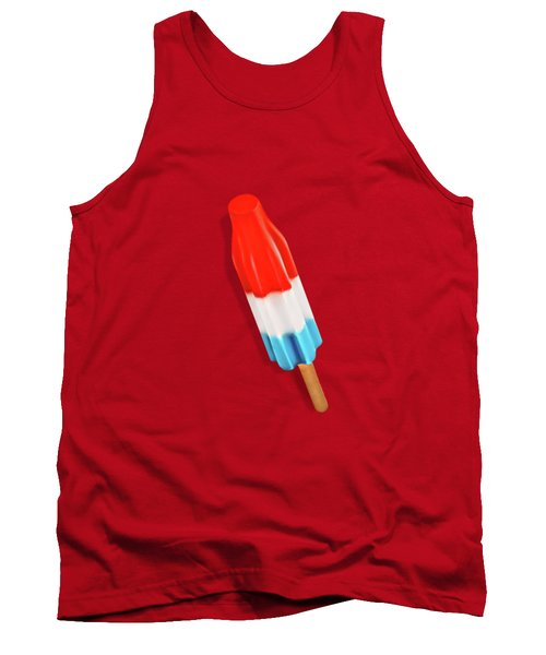 Rocket Pop Pattern Tank Top