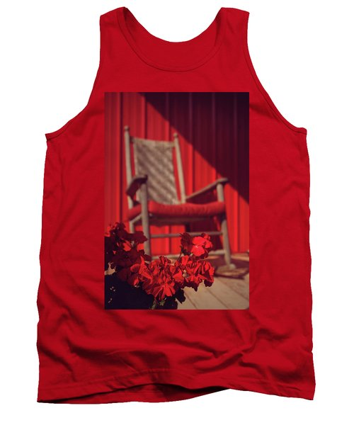 Tank Top featuring the photograph Rockin' Red by Jessica Brawley