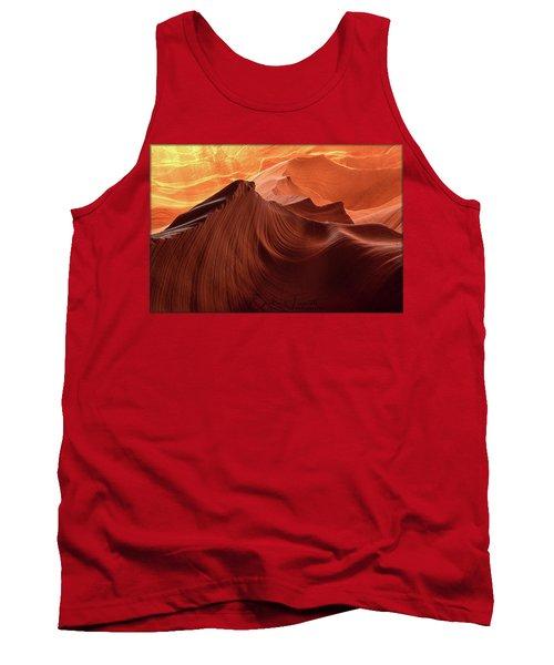 Rocky Mountain Sunrise Tank Top