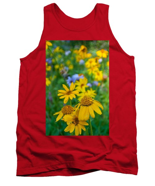 Rocky Mountain Wildflowers Tank Top