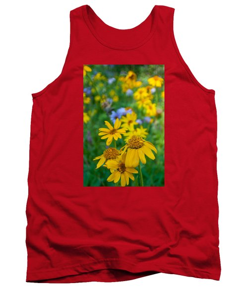Rocky Mountain Wildflowers Tank Top