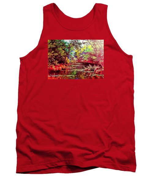 Rocky Rainbow River Tank Top